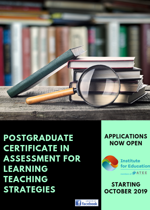 Postgraduate Certificate in Assessment for Learning Teaching Strategies.png